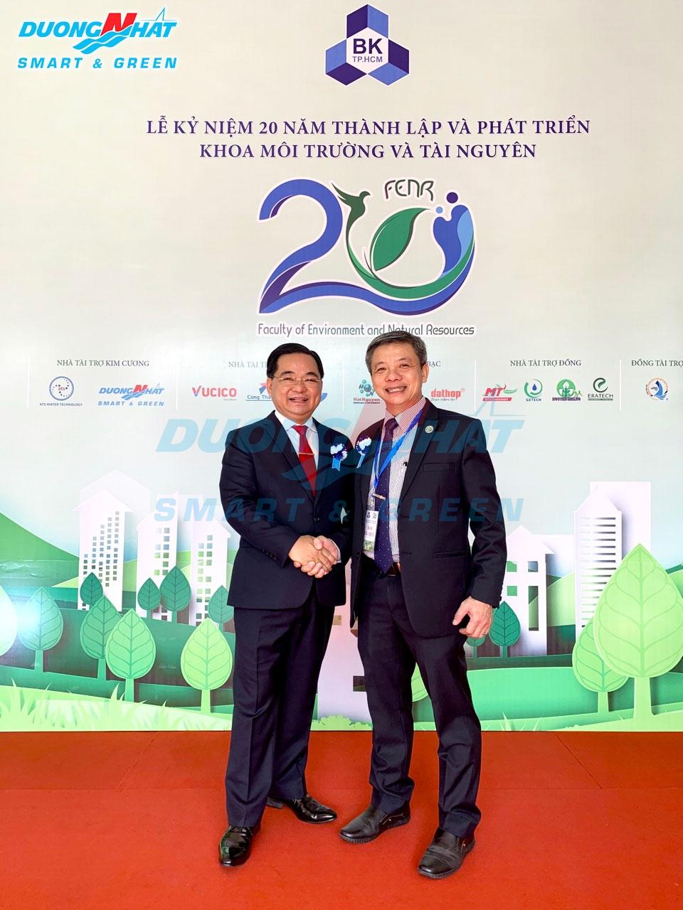 20 năm khoa môi trường và tài nguyên